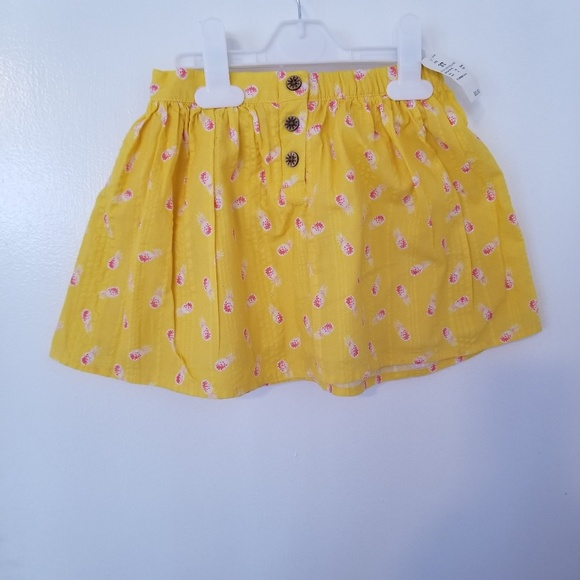 OshKosh B'gosh Other - Genuine kids Girls yellow skirt with pineapple